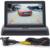 Monitor del coche de 4.3 pulgadas Que Invierte la imagen de visión Trasera de Aparcamiento Sistema de Cámara de visión Trasera coche electronice detector coche reverenciar imagen