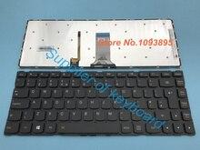 Original Novo REINO UNIDO (GB) teclado Para Lenovo YOGA 500 14IBD 500 14IHW Laptop REINO UNIDO (GB) teclado Retroiluminado