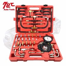 TU-443 Deluxe Manometer Fuel Pressure Gauge Engine Testing Kit Injection Pump Tester