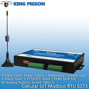 Image 4 - ワイヤレス iiot rtu modbus ゲートウェイ 3 グラム 4 4g lte テレメトリ監視システムサポート透明伝送 8DI 6AI 4RO S273