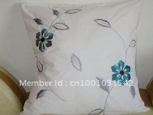 Foreign trade of the original single trade bedding package cotton embroidered pillow backrest sets of non-core 60 * 60cm