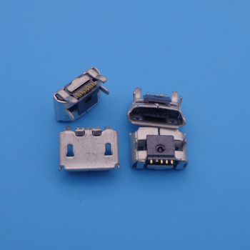 1000PCS charging port micro mini usb connector jack socket For blackberry 9100 9105 9860 9850 9670 replacement dock plug 5 pin
