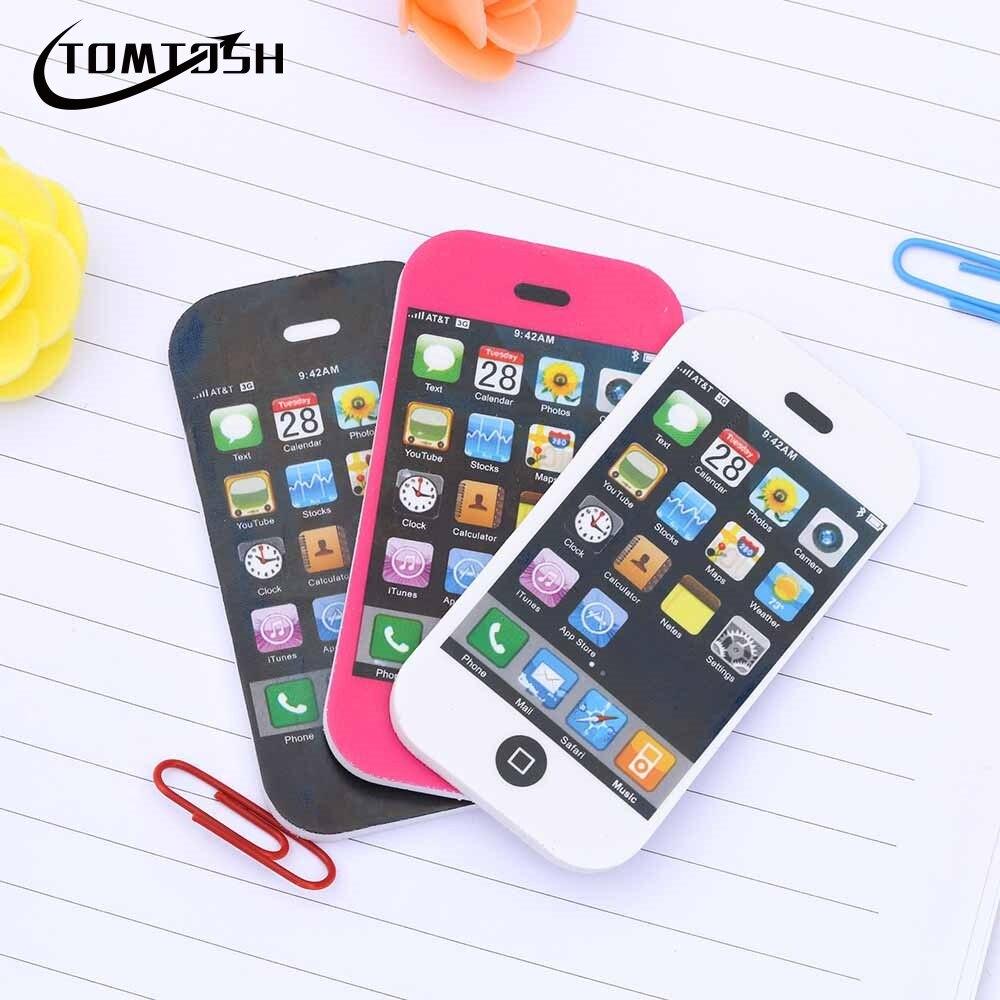 Home App Google Wishcom Customer Service Shopping Sites: TOMTOSH Cute Mobile Phone Shape Pencil Eraser Creative