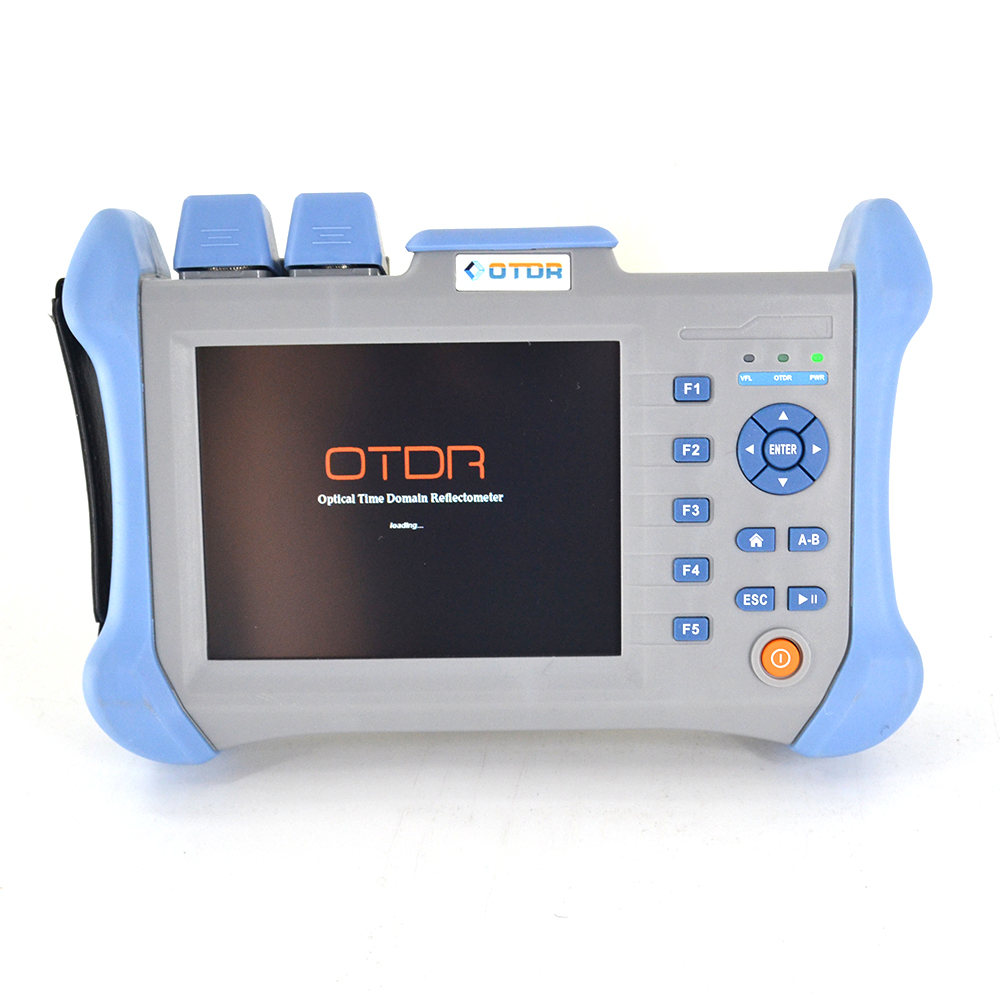 HN300A 5 6inch touchscreen Optical Time Domain Reflectometer 120km SM OTDR 1310 1550nm 30 28DB with 10mw VFL in Fiber Optic Equipments from Cellphones Telecommunications