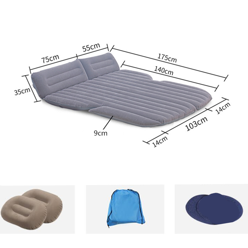 130*175*9 см надувной матрас для автомобиля, надувная подушка для внедорожника, надувной матрас для автомобиля - 3