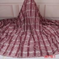 Cheap International African French Woman Fabric Laces Nigerian Wedding Aso Ebi Lace Fabrics QF2677B 1