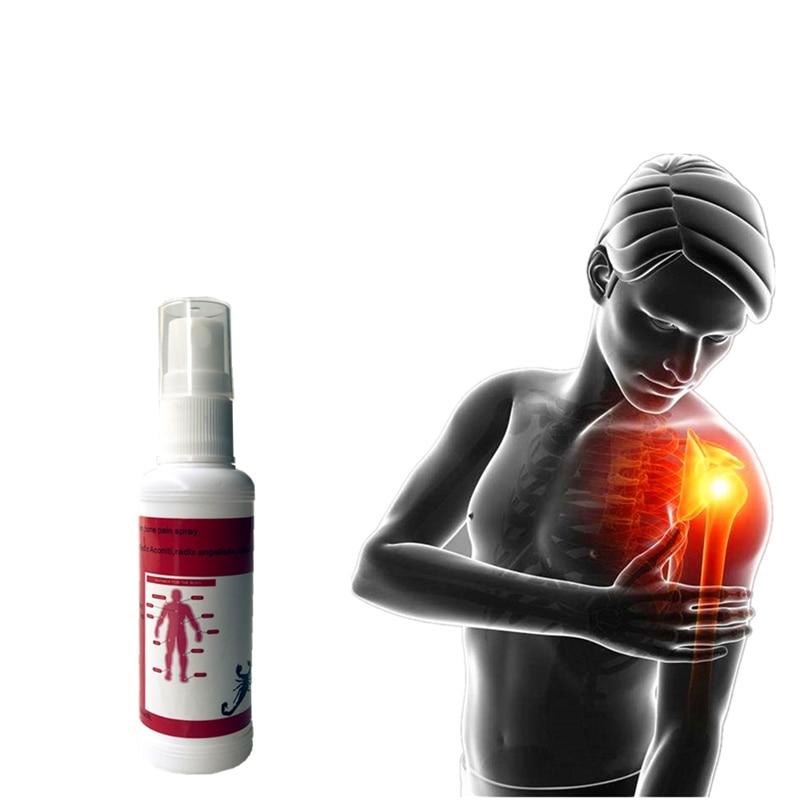 50ml Herbal Medicine Analgesic Spray Fast Effect Relieve Pain Essential Oils Scorpion Venom Rheumatism Arthritis Ointment