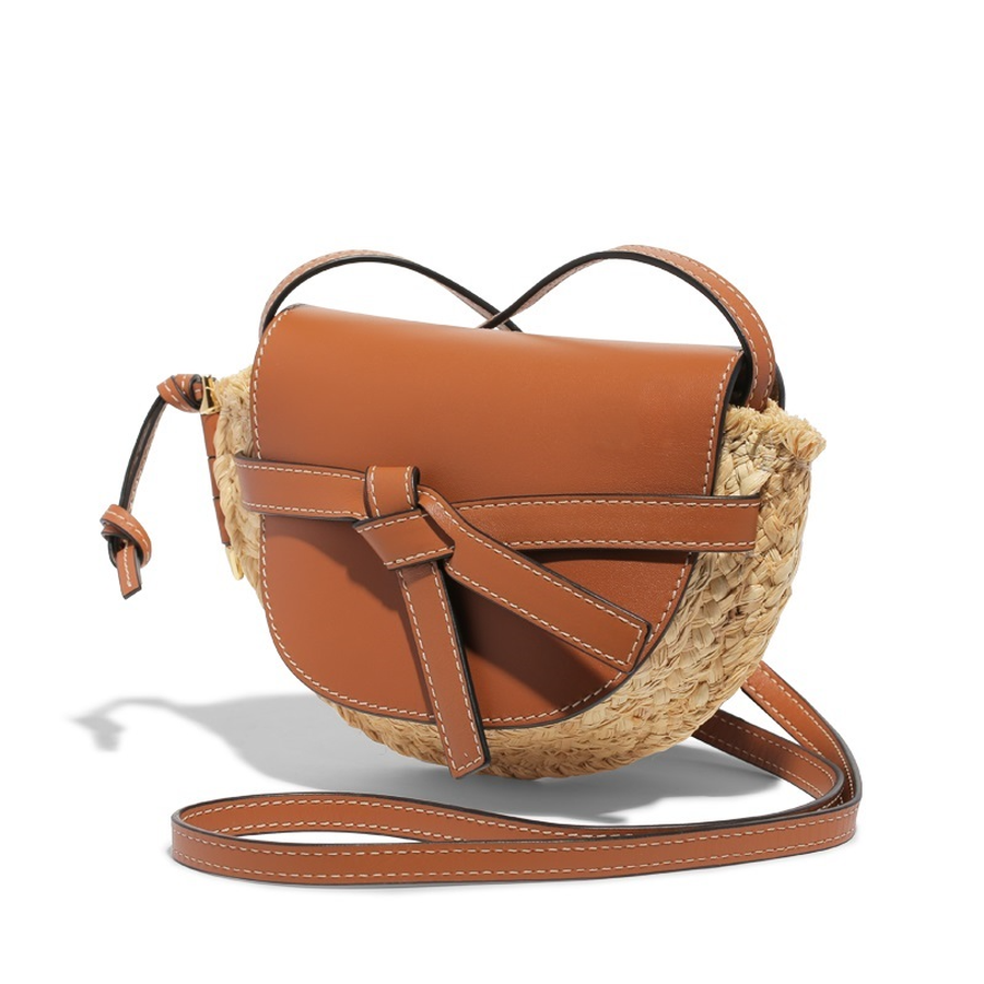 Genuine Leather Patchwork Straw Bags Woman 2019 Brand Designer Women Saddle Handbags Mini Crossbody Crossbody Bags Holiday BolsaGenuine Leather Patchwork Straw Bags Woman 2019 Brand Designer Women Saddle Handbags Mini Crossbody Crossbody Bags Holiday Bolsa
