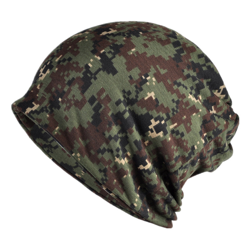 Men Spring Autumn Casual Hat Tactical Military Balaclava Army Camouflage   Beanies   Cotton   Skullies     Beanie   Women Unisex Scarf Camo