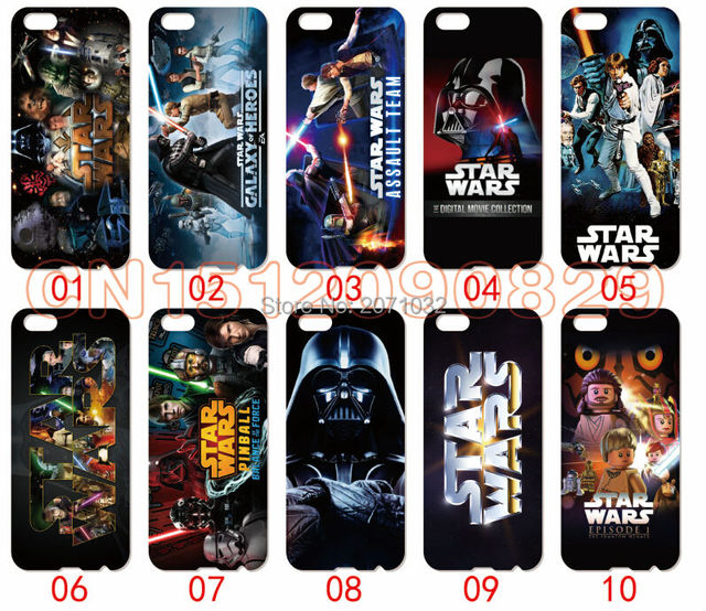 buy online c32e5 e1827 US $16.0 |Star Wars Cover Case For iPhone 6 6S Plus 5 5S 5C 4S iPod Touch 6  5 4 For Samsung Galaxy S2 S3 S4 S5 Mini S6 S7 Edge 10pcs/lots on ...