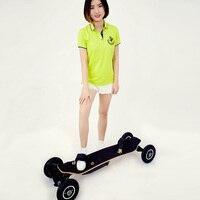 4 Wheel Electric Skateboard with Remote Control H2C 2 X 800W Brushless Motors Slide Board E Wheel Skateboard EU US Plug