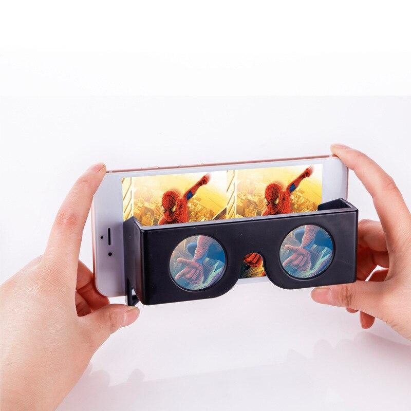Caja de la caja gafas de realidad virtual portátil plegable mini vr vr google ca