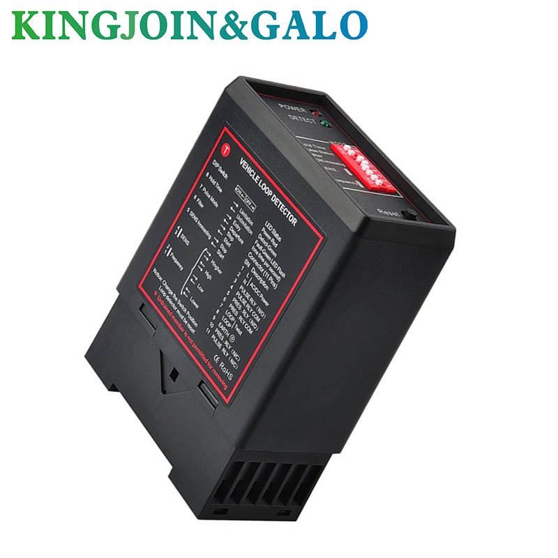 Single Channel Inductive Loop Detector Automatic Gate And Barrier Gate /loop Controller/traffic Counters DC12V DV24V 110v 220V