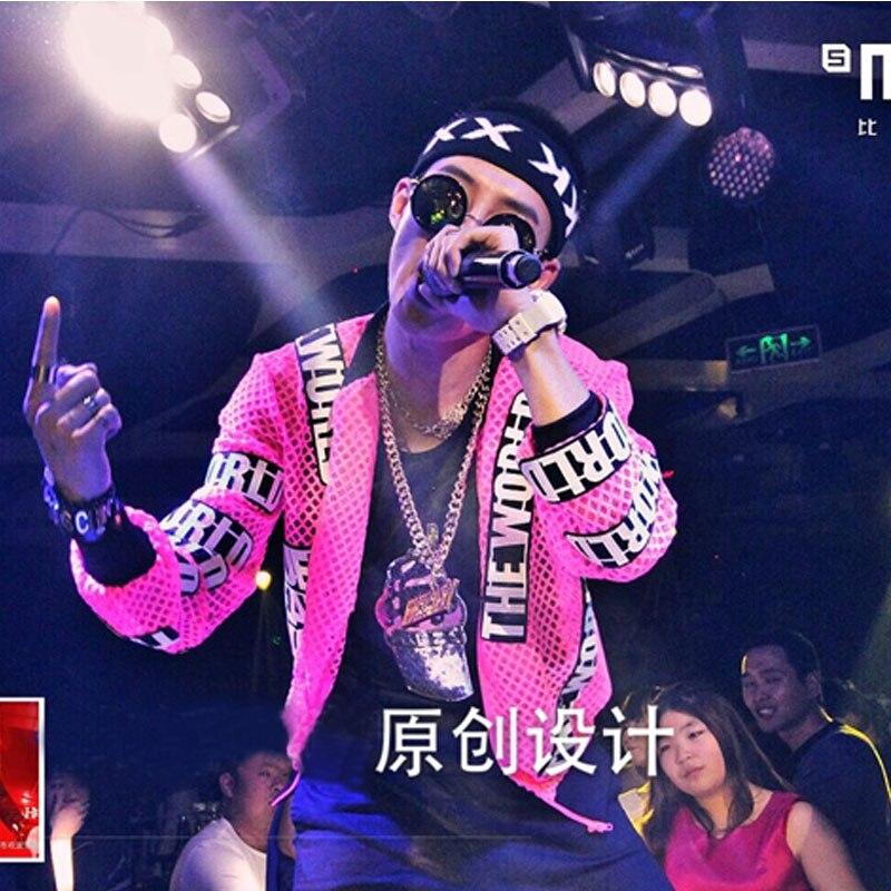 Cool Night Club Dance Soul DS DJ Cântăreață Rapper Fashion Jacket - Imbracaminte barbati