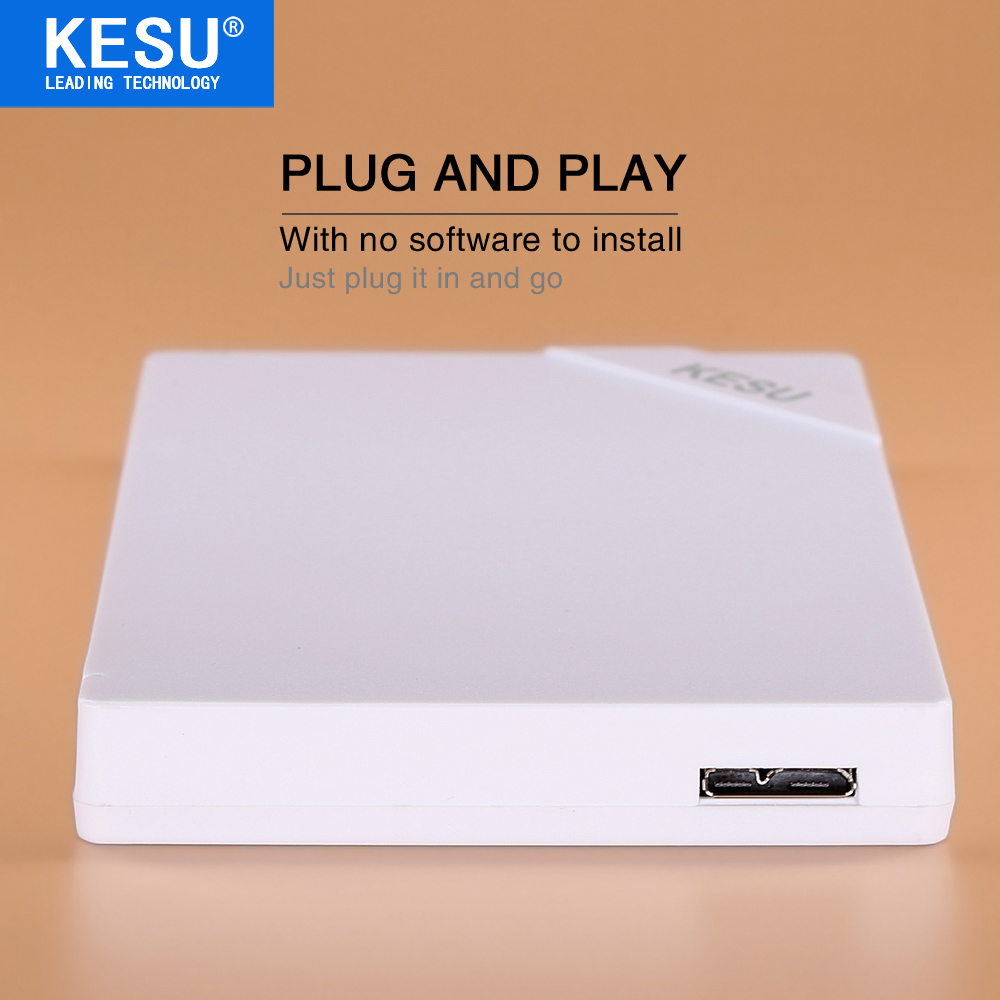 Kesu Elements Portable External Hdd 2.5 USB 3.0Hard Drive Disk Laptop 120Gb 160Gb 320Gb 500Gb 1Tb 2Tb 100% New Style HDD
