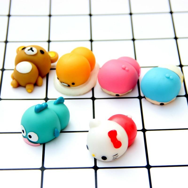 Cute маленькі близнюки зірки Mochi Squishy Kitty - Іграшкові фігурки