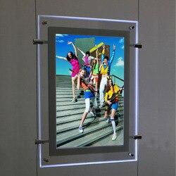 (3 jednostki/kolumny) A3 dwustronna wyświetlania kabli systemy wiszące  art & Gallery systemy wiszące dla pośrednika w obrocie nieruchomościami  właściwości  Hotel w Oświetlenie reklamowe od Lampy i oświetlenie na