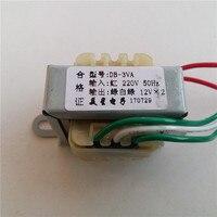 6 В 9 В 10 В 12 В 24 В трансформатор 3VA двойной AC12V-0-12V 3 Вт 220 В вход для предусилитель доска Предварительный усилитель доска предусилитель усилите...