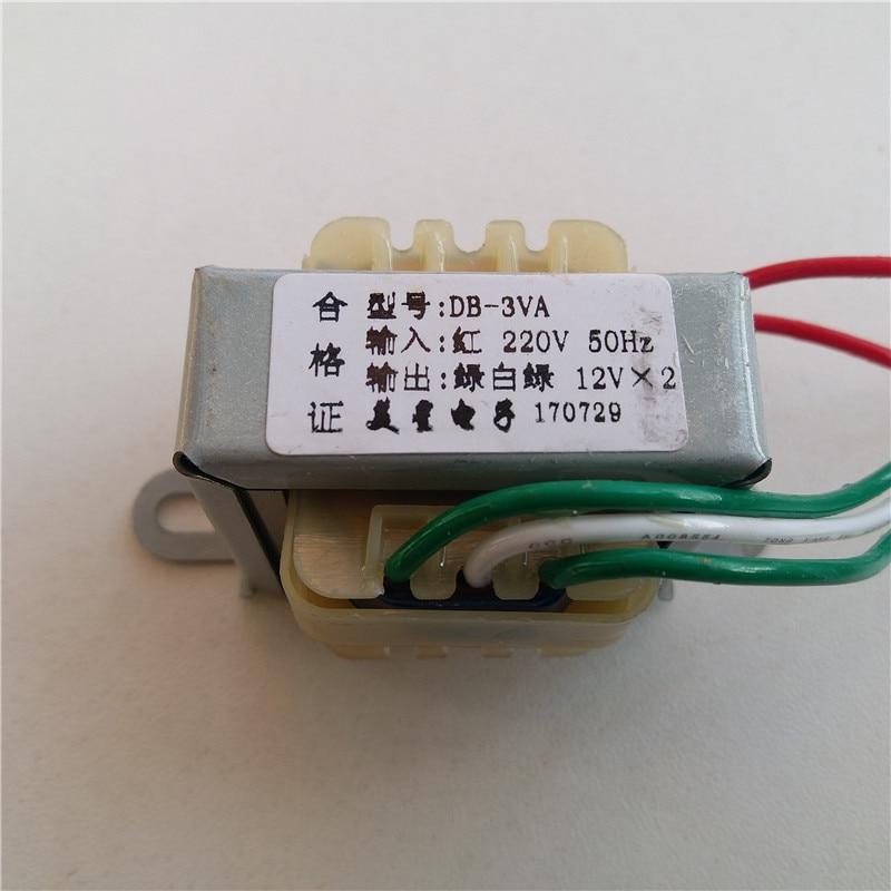 6 V 9 V 10 V 12 V 24 V Transformateur 220 V 3VA double AC12V-0-12V 3 W pour préamplificateur conseil pré-amplificateur conseil préampli amplificateur