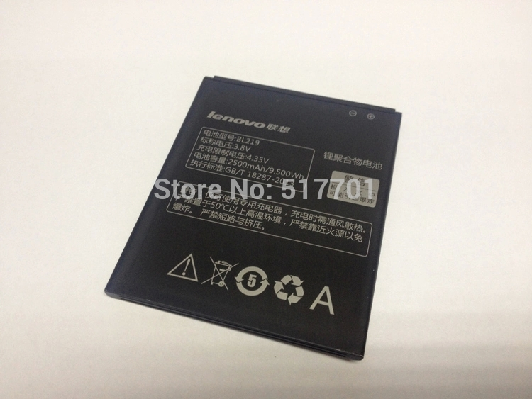 mobile phone battery BL219 Lenovo A850 A880 A889 good quality best price - HiGo China- Co. Ltd store