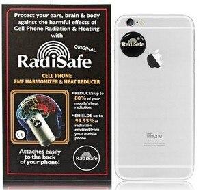 Image 1 - 2019hot product realy work have test by Morlab lab shiled Radisafe 99.8% NHF Radi Safe anti radiation sticker 20pcs/lot