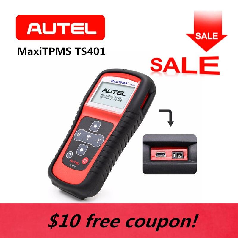 AUTEL MaxiTPMS TS401 TPMS Diagnostic Tool di Programmazione Della Pressione Dei Pneumatici MX-Sensore obd2 Activator Decoder Automotive Accessori Auto