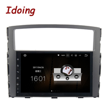 Idoing 1Din 9inch Android7.1 Car Multimedia Player Fit MITSUBISHI PAJERO V97 V93 2006-2011 Quad Core Fast Boot 2G RAM 16G ROM