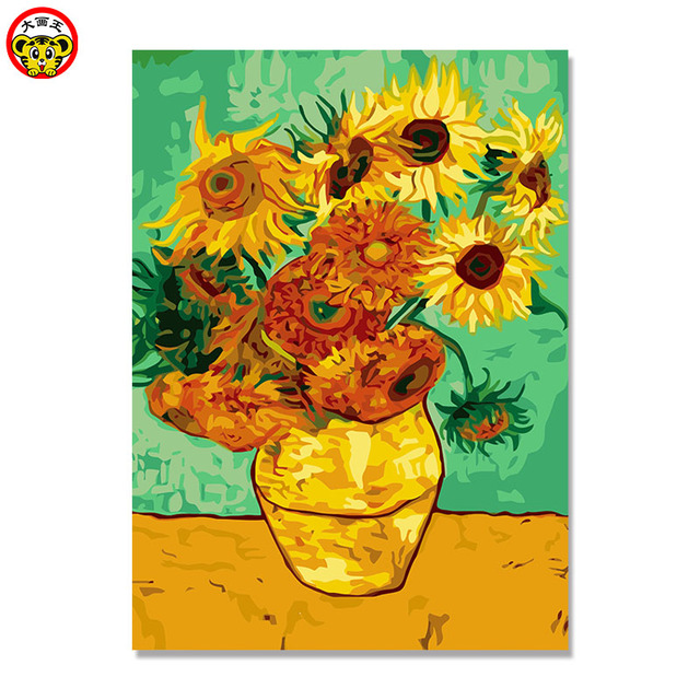 Still Life Vase With Fifteen Sunflowers Van Gogh Sunflower Painting