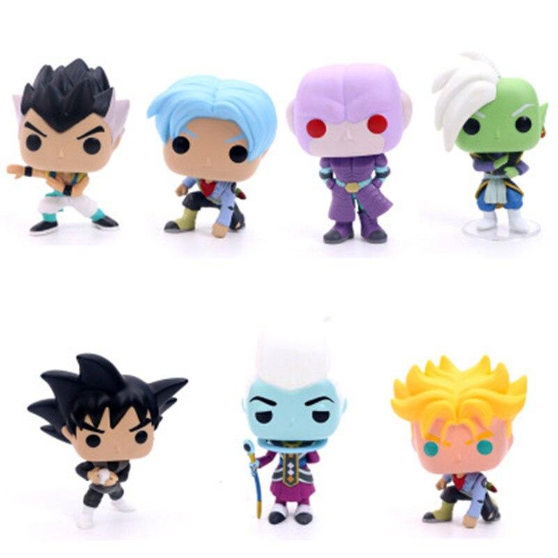 10 Dragon Ball Z Figure SHFiguarts Super Saiyan Son Goku Trunks Vegetto Vegeta Frieza Gohan Krillin Lazuli Figure Toy