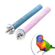 Красочные животные птица Жевательная лапа шлифовальные игрушки поводок для попугая клетка волнистый Чистый инструмент