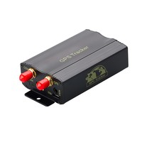 Carro rastreador gps tk103a tk103 gps103a gsm/gprs rastreamento veículo em tempo real sensor de choque da porta acc alarme novo x2