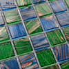 Green Mixed Blue Mosaic Special For Wall