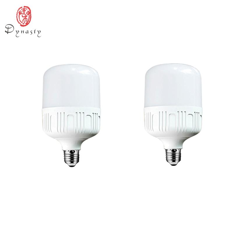 Купить с кэшбэком LED High Power Bulbs Super Brightness Energy Saving lamp E27 Holder 85-265V Indoor Outdoor Work Shop Market Light Source Dynasty
