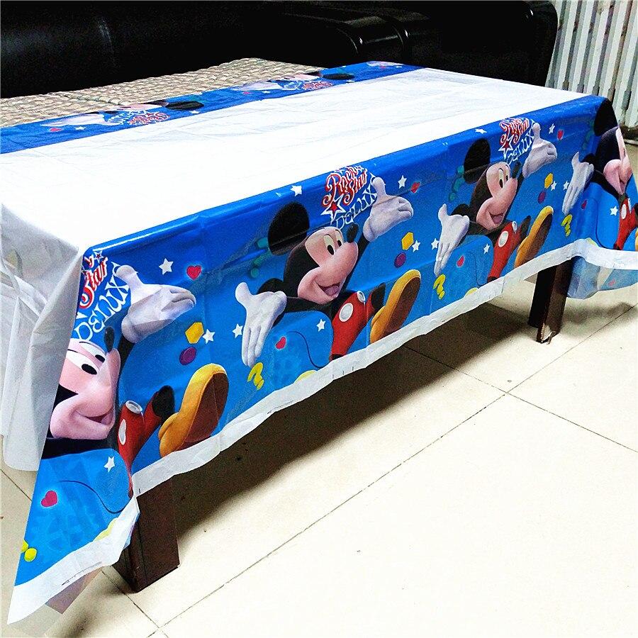 יום הולדת מיקי מאוס צלחות כוסות כלי שולחן הגשה מפה להזמנה לייף-דיזיין