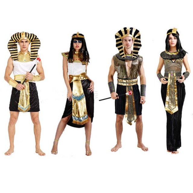 Adult Egypt Prince Princess Cosplay Costume King Queen Pharaoh Halloween Costume Carnival Party Dress Supplies  sc 1 st  AliExpress.com & Adult Egypt Prince Princess Cosplay Costume King Queen Pharaoh ...