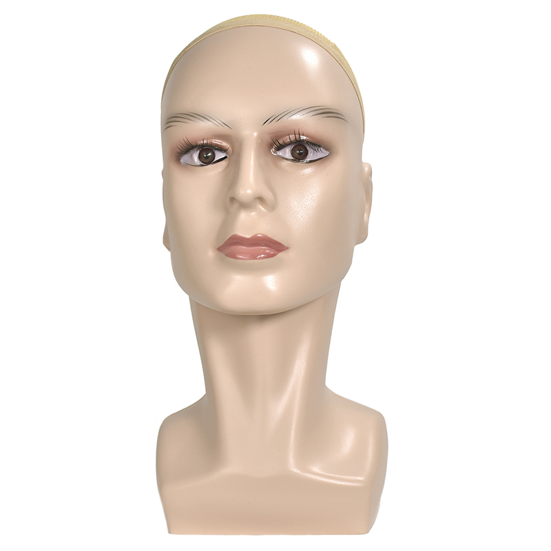 High Grade Male Mannequin Head For Hat/ Wig/ Headphones Display Manikin Heads ModelHigh Grade Male Mannequin Head For Hat/ Wig/ Headphones Display Manikin Heads Model