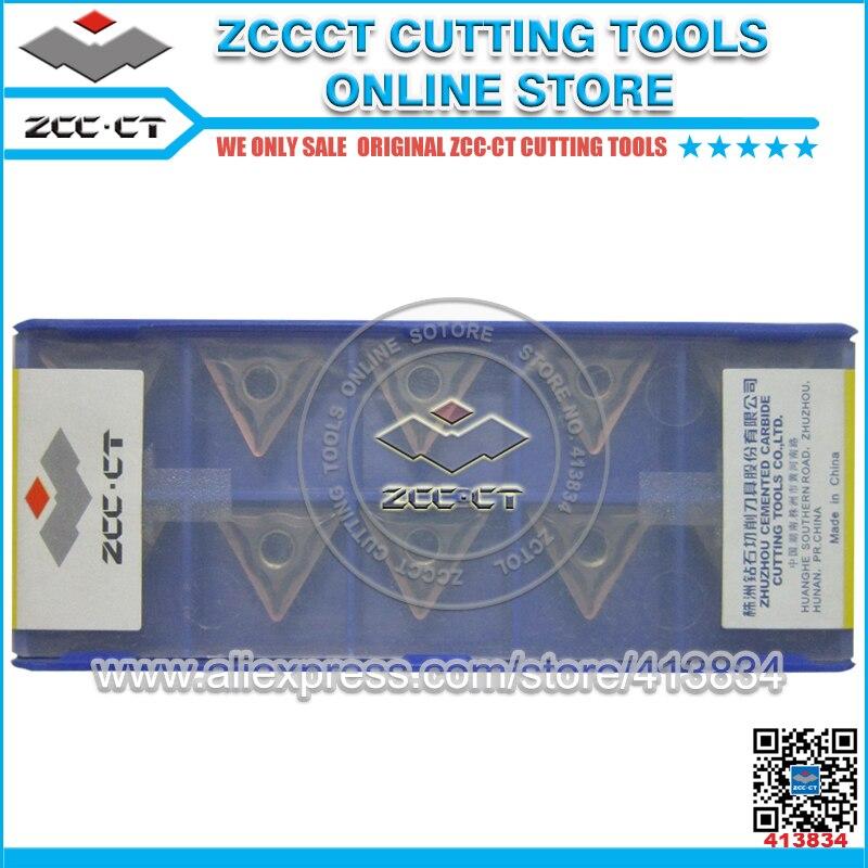50pcs ZCC CT carbide inserts TNMG160408 EF TNMG160408 TNMG 160408 EF YBG205 grade for stainless steel