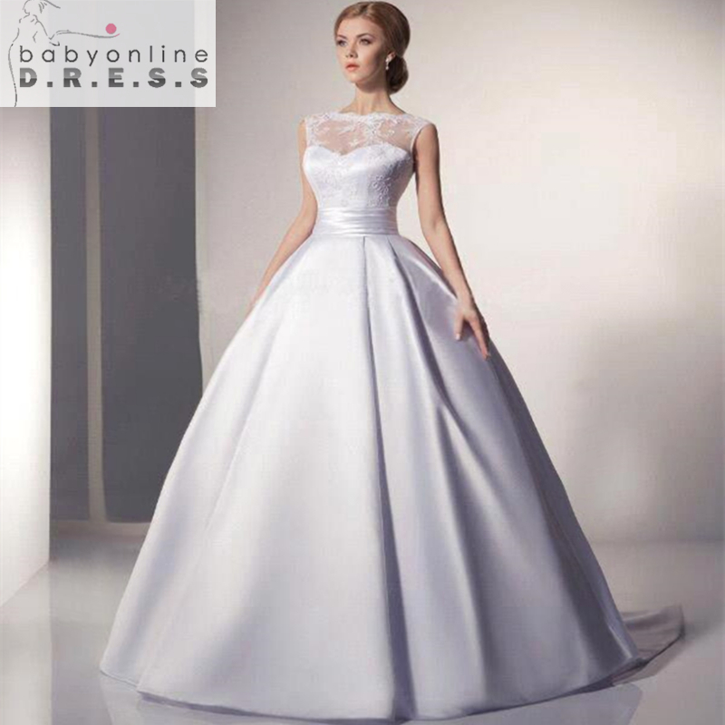 Robe De Mariage Cheap Ball Gown Wedding Dress Under $100 A