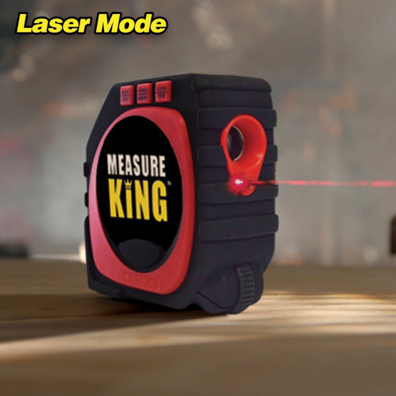 Präzise Messen König 3-in-1 Präzise Laser Maßband mit Led-anzeige Roller Rad Laser Range Finder messwerkzeuge