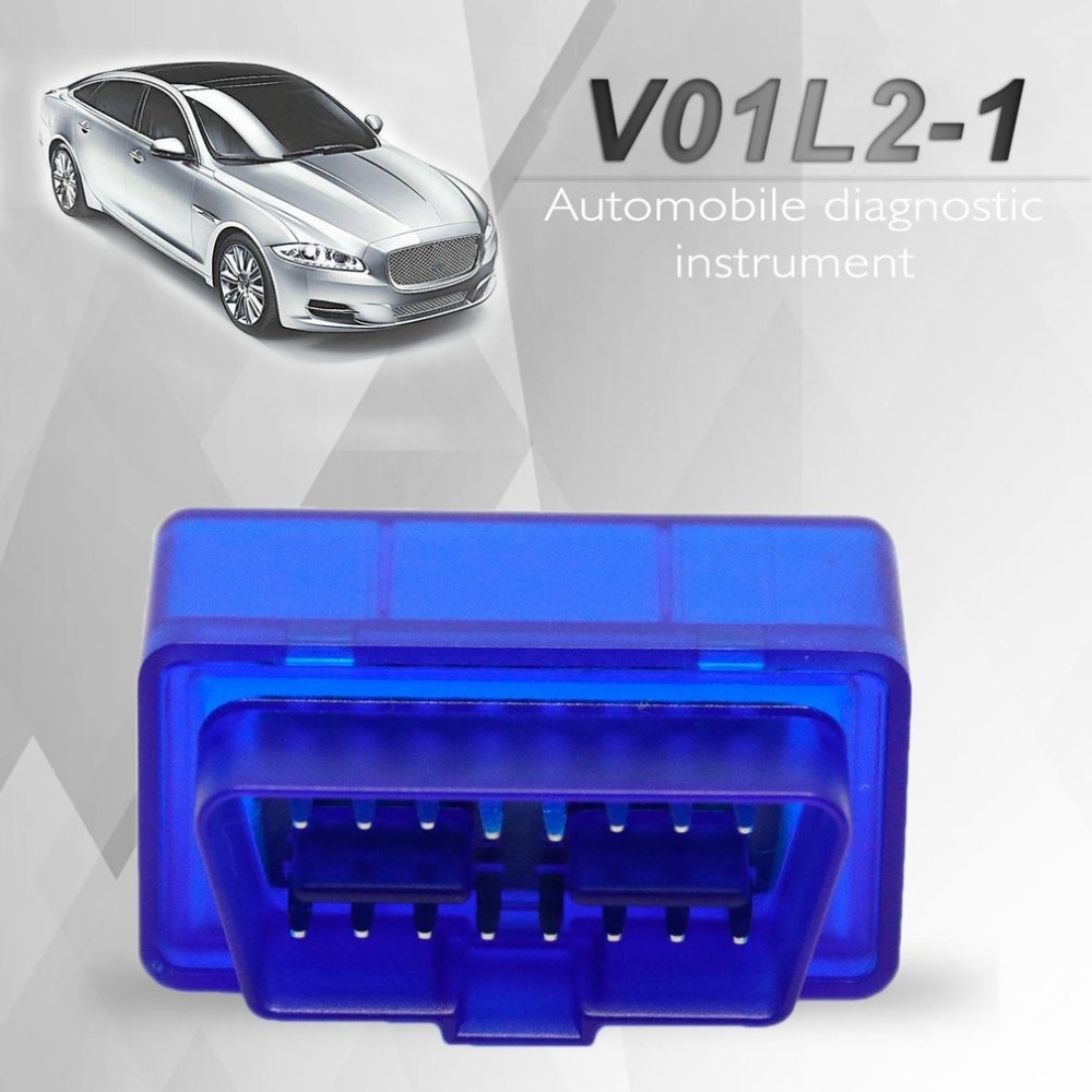 V01L2-1 Vehicle Car Auto Fault Diagnostic Scanner Tool Bluetooth 2.0 Software V1.5 OBDII Protocols For Android For Windows