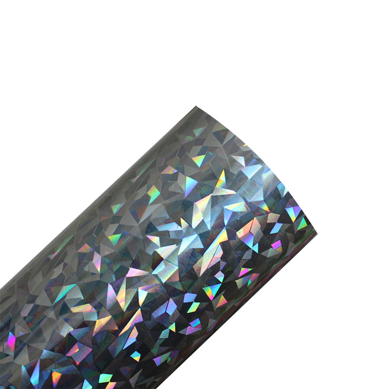 Image 5 - Free shipping 25cmx100cmMetallic & Laser Heat Transfer Vinyl Camouflage Rainbow Iron on Film  HTV T shirtFilm-in Decorative Films from Home & Garden