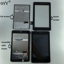 цены на N070ICE -GB1 LCD Display Panel Screen Touch Screen Digitizer Glass Assembly with frame