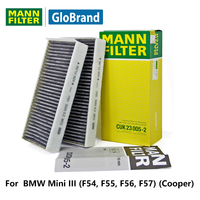 MANNFILTER Carbon Cabin Filter CUK23005 2 For BMW Mini III F54 F55 F56 F57 Cooper Auto