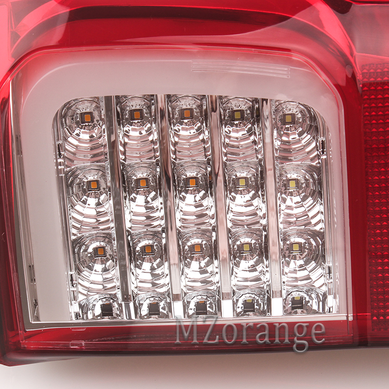 MIZIAUTO 1 Pair Car Tail light For Toyota Hilux Revo 2015 2016 2017 2018 LED With Bulb Rear Reverse Lamp Modified Tail Fog light in Car Light Assembly from Automobiles Motorcycles
