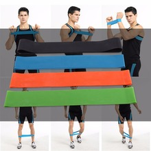 Elastic Resistance Band 3/4/5 Level Available Exercise Loop Bands Natural Latex Gym Fitness