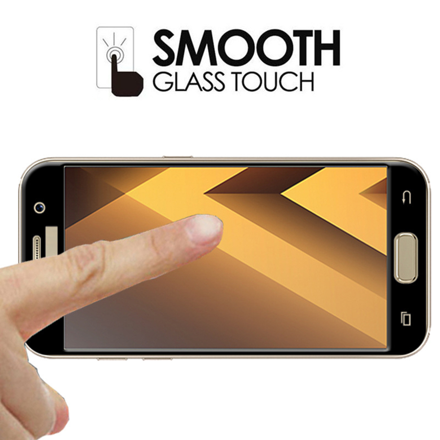 3D Curved Full Cover Tempered Glass For Samsung Galaxy A3 2017 A5 2017 A320 A520 Screen Protector For Samsung A7 2017 A720 Film in Phone Screen Protectors from Cellphones Telecommunications