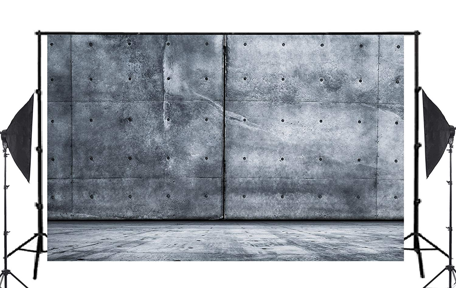 Image 2 - 5x7ft Big Blue Stone Photography Background Backdrop Canvas Photo Studio Prop Wall-in Photo Studio Accessories from Consumer Electronics