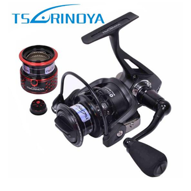 Tsurinoya Spinning Fishing Reel 5.2:1/12BB Moulinet Peche Trolling Reels Double Spools Saltwater And Freshwater Carp Reel Feeder brand new smt yamaha feeder ft 8 2mm feeder used in pick and place machine