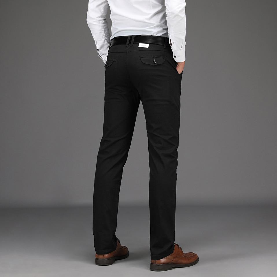 HTB1YIJCXiYrK1Rjy0Fdq6ACvVXaF NIGRITY 2019 Men Pants Casual High Quality Classics Fashion Male Trousers Business Formal Full Length Mens Pants