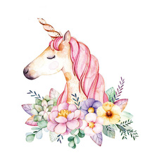 10pc/lot Funny Unicorn Clothes Patches for Jeans DIY Household Iron-on Patch Decoration Appliqued Heat Transfer Stickers Parches